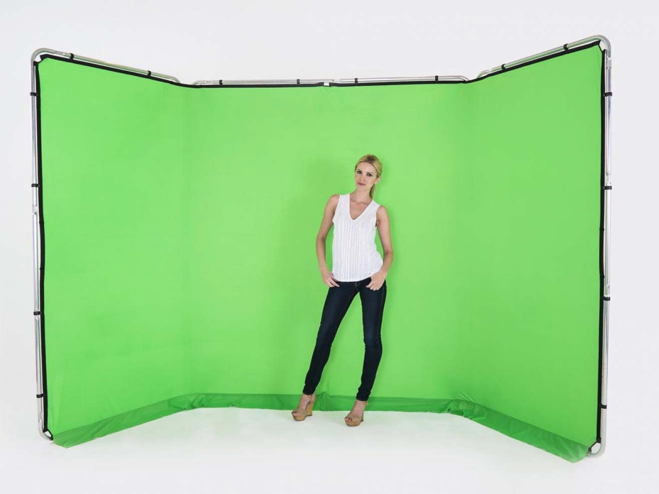 Location photomaton Chroma key fond vert