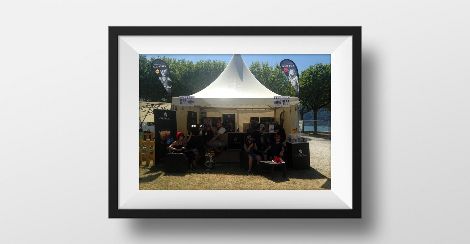 Location Photo Booth festival