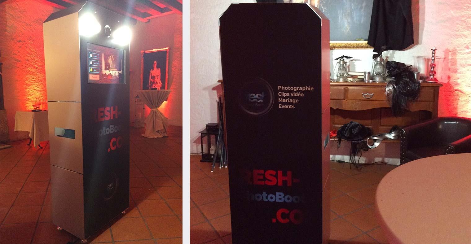 Location photobooth imprimante intégrée